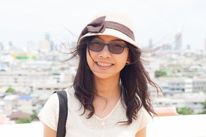 joy and smile asia woman.