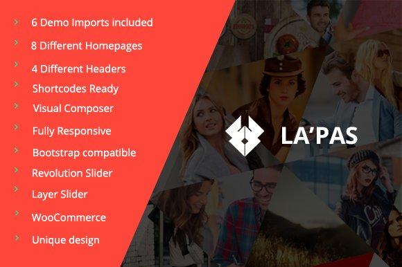 Lapas Responsive WordPress Theme