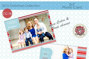 Christmas Photo Card  CC-18