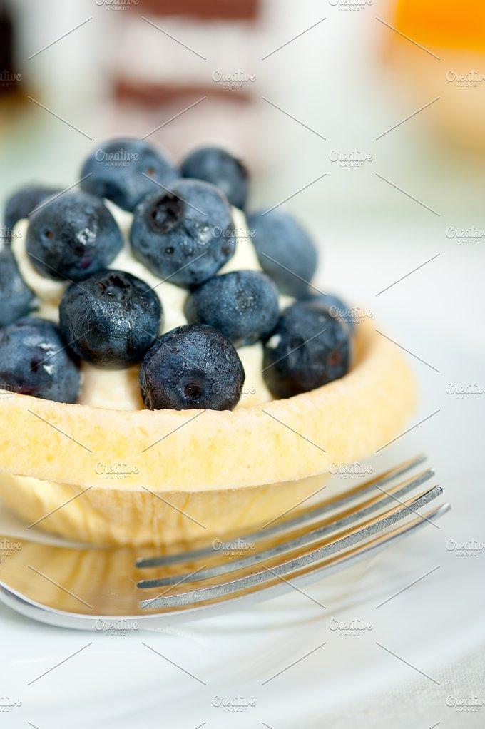 blueberries and cream cupcake pastry 013.jpg - Food & Drink