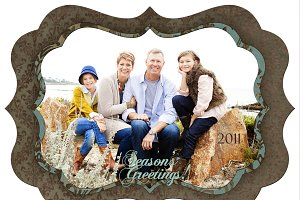 Christmas Photo Card Set 22