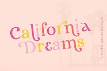 California Dreams | A Playful Serif