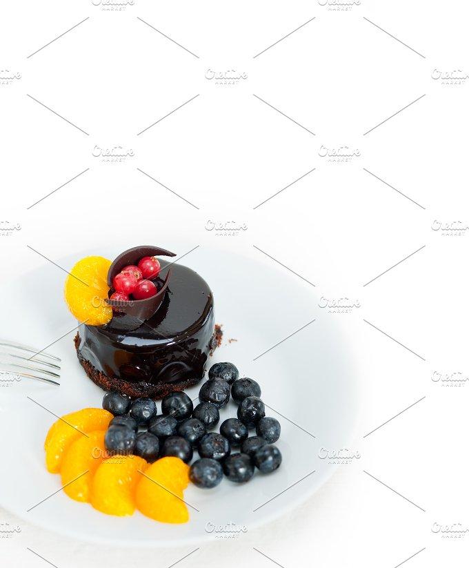 chocolate and fruits cake 022.jpg - Food & Drink