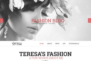 Teresa - A One Page PSD Template