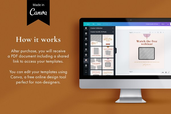 Lead Magnet Marketing Bundle   CANVA