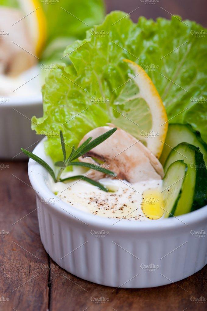 fresh garlic cheese dip 018.jpg - Food & Drink