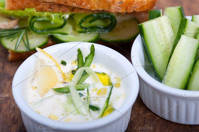 fresh garlic cheese dip 043.jpg - Food & Drink