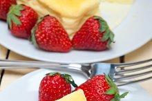 heart shape cheesecake and strawberries 027.jpg