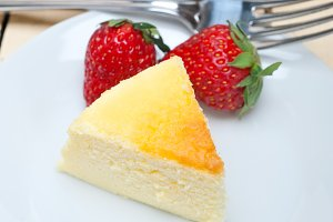heart shape cheesecake and strawberries 027.jpg