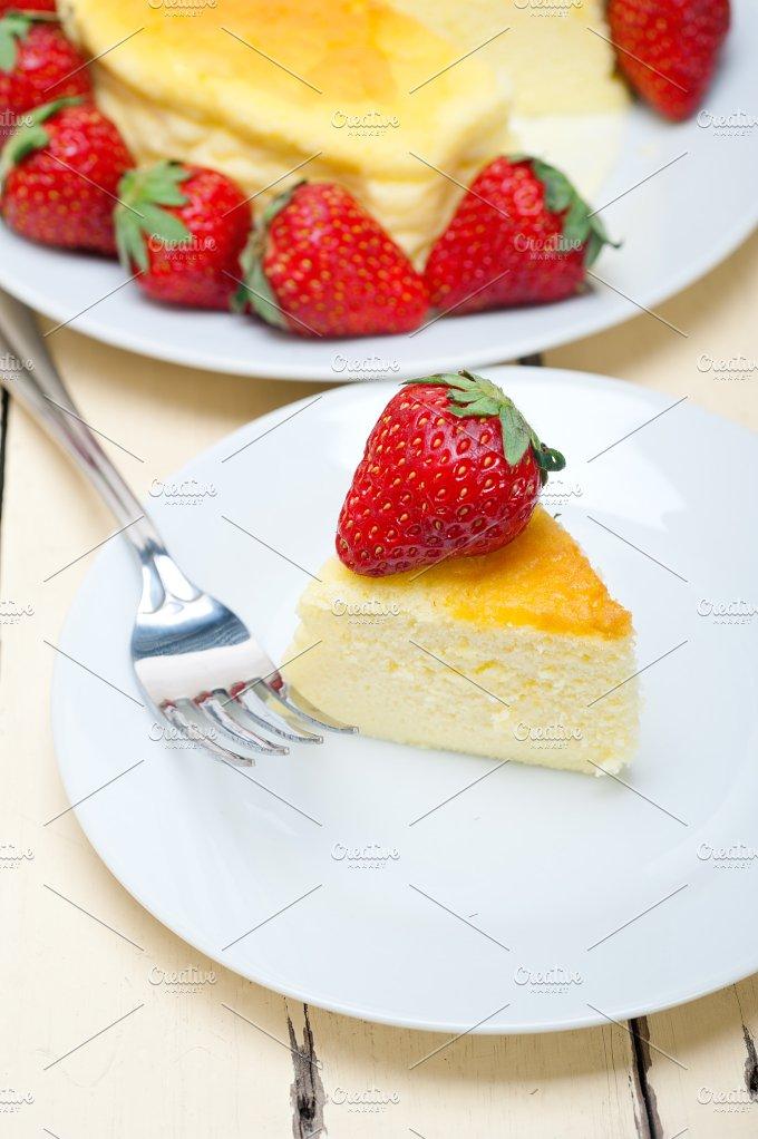 heart shape cheesecake and strawberries 039.jpg - Food & Drink