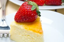 heart shape cheesecake and strawberries 050.jpg