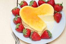 heart shape cheesecake and strawberries 032.jpg