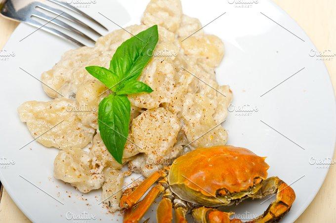 Italian crab and basil gnocchi 005.jpg - Food & Drink