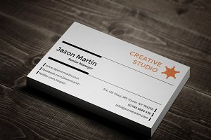 Creative & Corporate Business Card