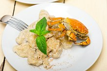 Italian crab and basil gnocchi 010.jpg