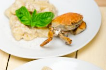 Italian crab and basil gnocchi 011.jpg