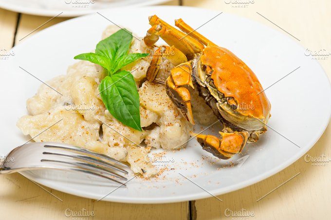 Italian crab and basil gnocchi 015.jpg - Food & Drink