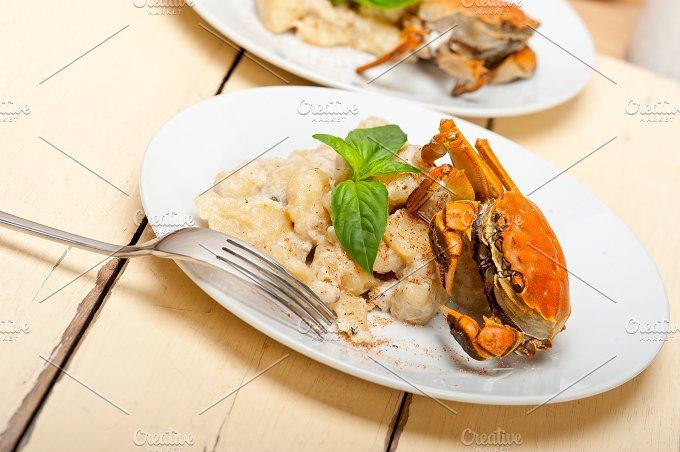 Italian crab and basil gnocchi 017.jpg - Food & Drink