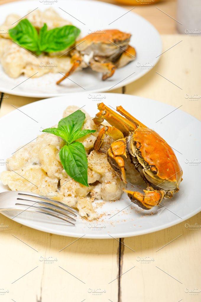 Italian crab and basil gnocchi 018.jpg - Food & Drink