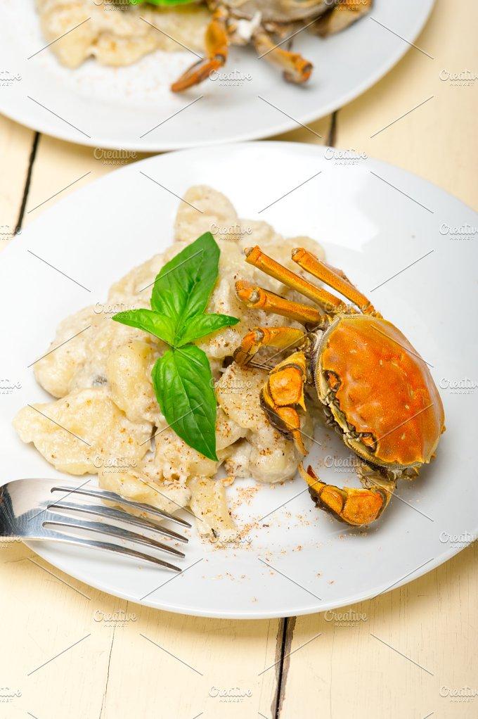 Italian crab and basil gnocchi 019.jpg - Food & Drink