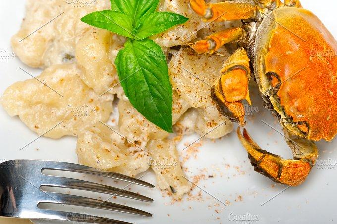 Italian crab and basil gnocchi 020.jpg - Food & Drink
