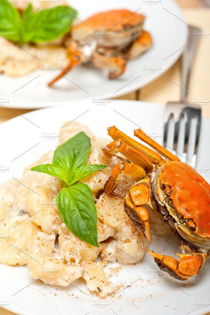 Italian crab and basil gnocchi 031.jpg - Food & Drink