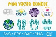 Mini Vacay SVG Bundle Vacation SVG