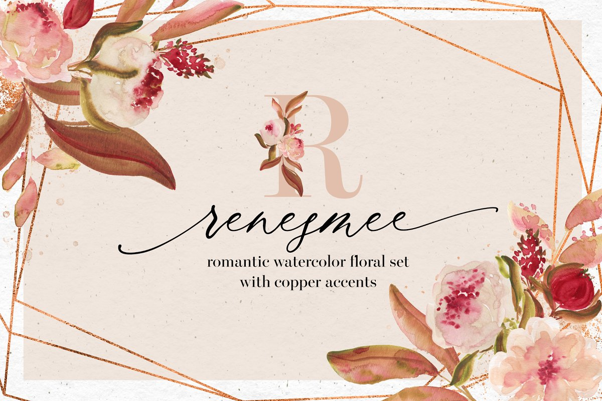 Renesmee | watercolor set in Illustrations - product preview 8