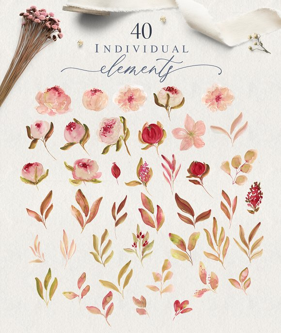 Renesmee | watercolor set in Illustrations - product preview 4