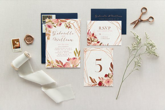 Renesmee | watercolor set in Illustrations - product preview 6