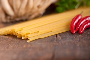 Italian pasta and mushrooms sauce ingredients 009.jpg