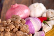 Italian pasta and mushrooms sauce ingredients 017.jpg