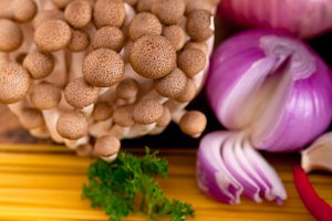 Italian pasta and mushrooms sauce ingredients 021.jpg