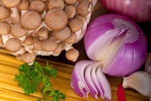 Italian pasta and mushrooms sauce ingredients 020.jpg