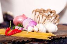 Italian pasta and mushrooms sauce ingredients 031.jpg