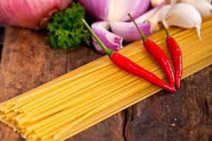 Italian pasta and mushrooms sauce ingredients 027.jpg