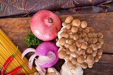 Italian pasta and mushrooms sauce ingredients 030.jpg