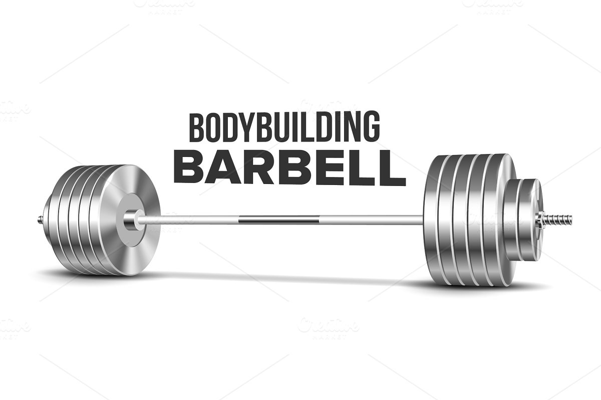 Barbell Weightlifting Gym Sport