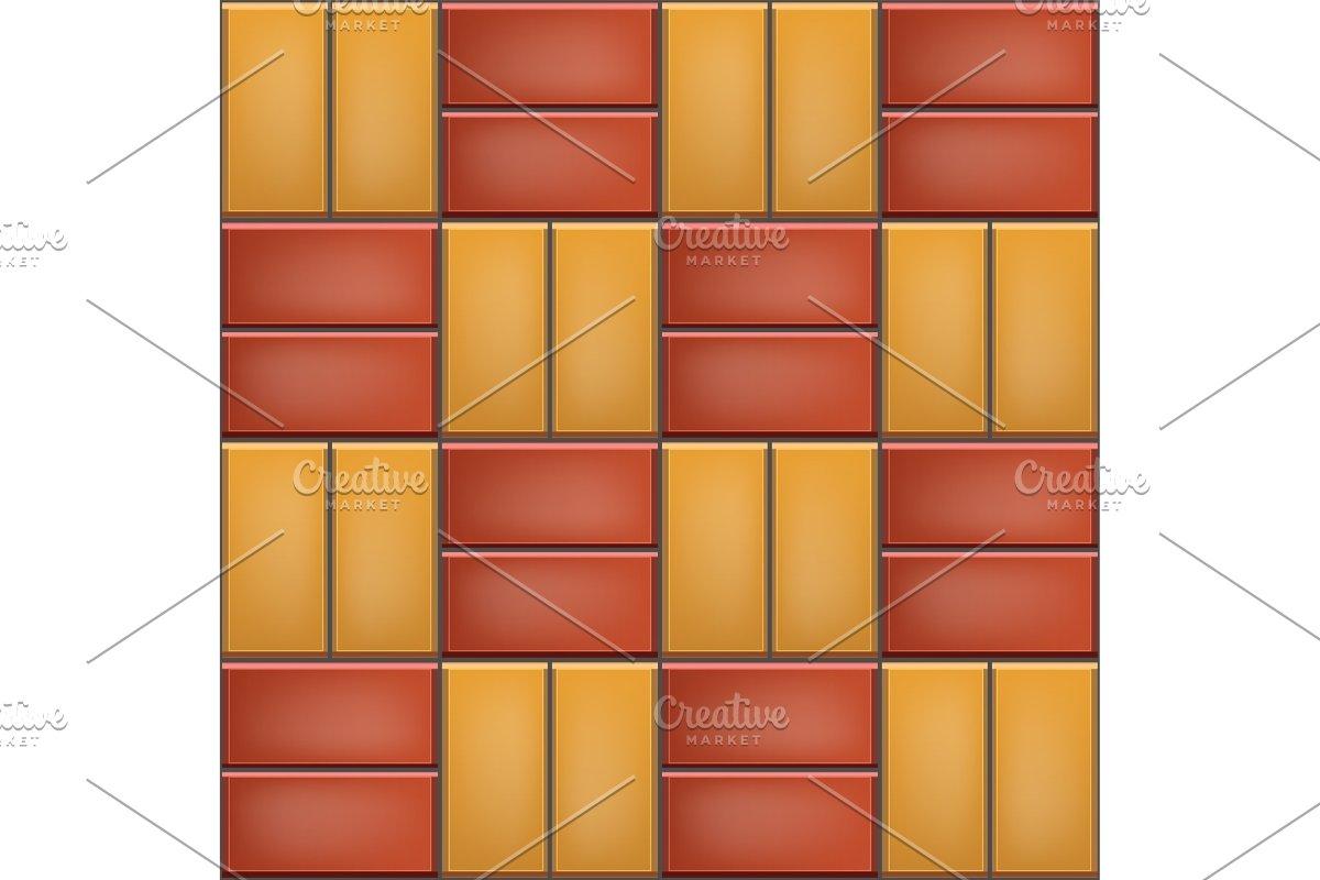 Seamless pattern of cobblestone