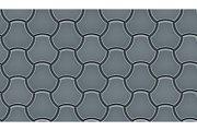Seamless pattern of milano