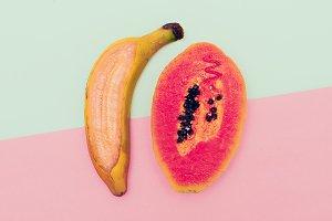 Banana plus papaya