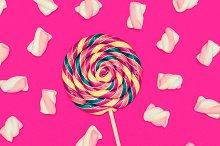 Sweet Lollipop mix cocktail