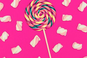 Sweet Lollipop mix cocktail