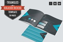Triangles-Brand Guidelines Template