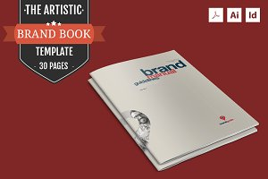 The Artistic – Brand Book Template