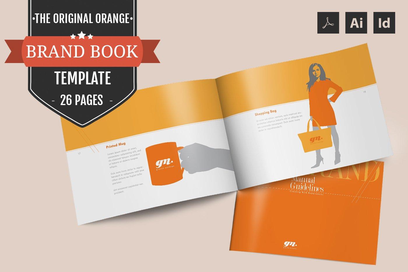 the original orange brand book