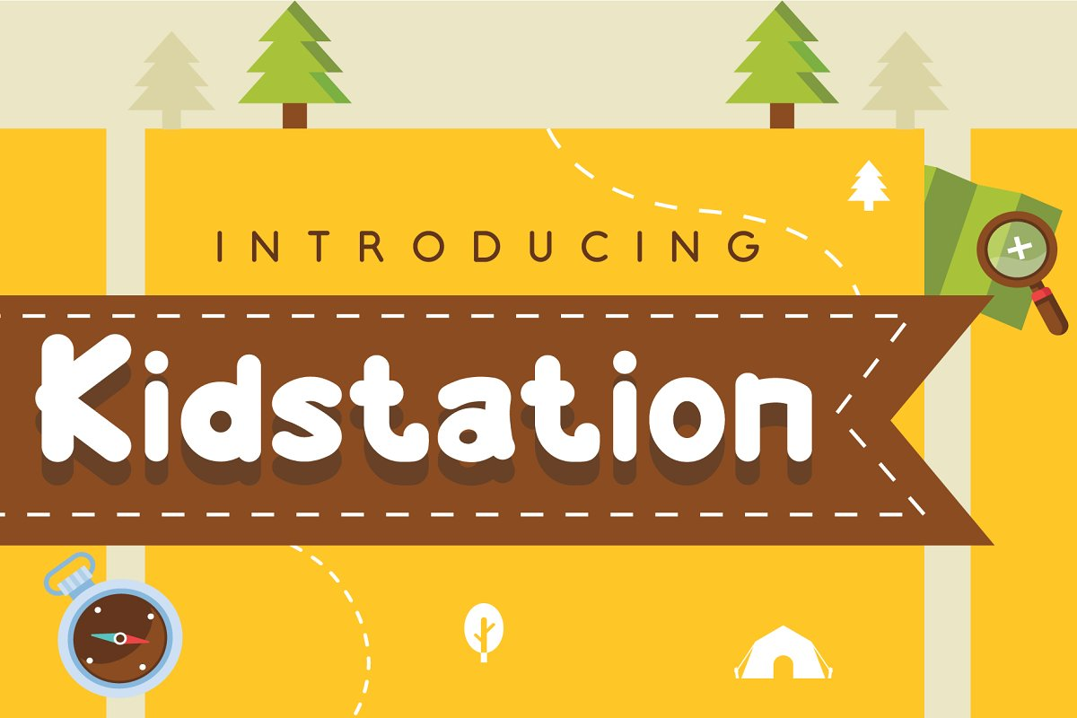 Kidstation Font for fun projects