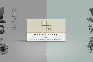 Hipster Business Card Template
