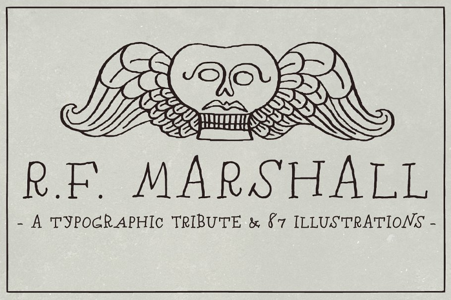RF Marshall Font