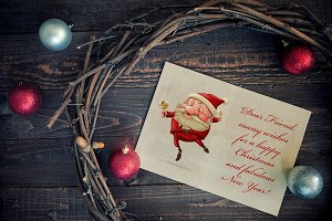 Christmas greeting card - n°1